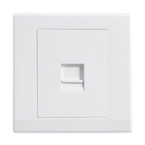 Simplicity White Screwless Single BT Slave Telephone Socket 07760